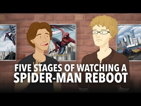 Download Youtube: Five Stages of Watching A Spider-Man Reboot