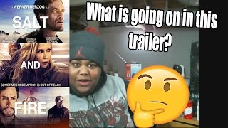 THANK YOU FOR 400 SUBS!! | Salt and Fire Trailer #1 (2017) REACTION!!!