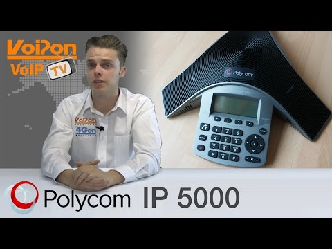 Polycom SoundStation IP5000 IP Conference Phone Review / Unboxing
