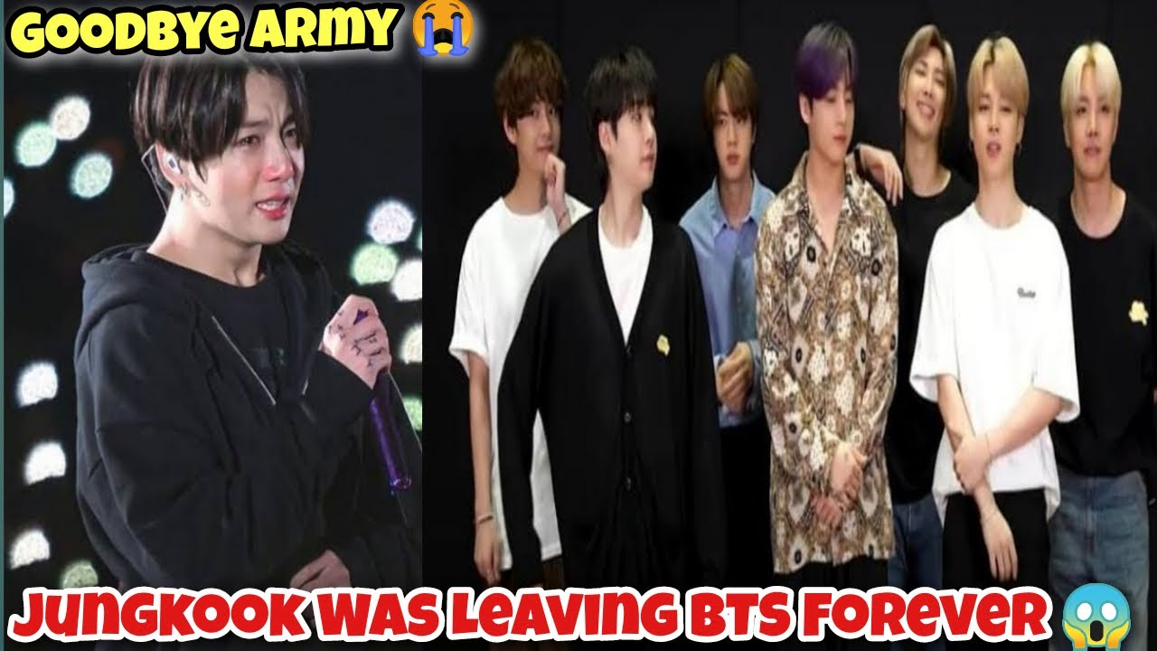 Jungkook Was Leaving BTS Forever 😱 | Jungkook Confirmed 😭 | Cinewood Hub