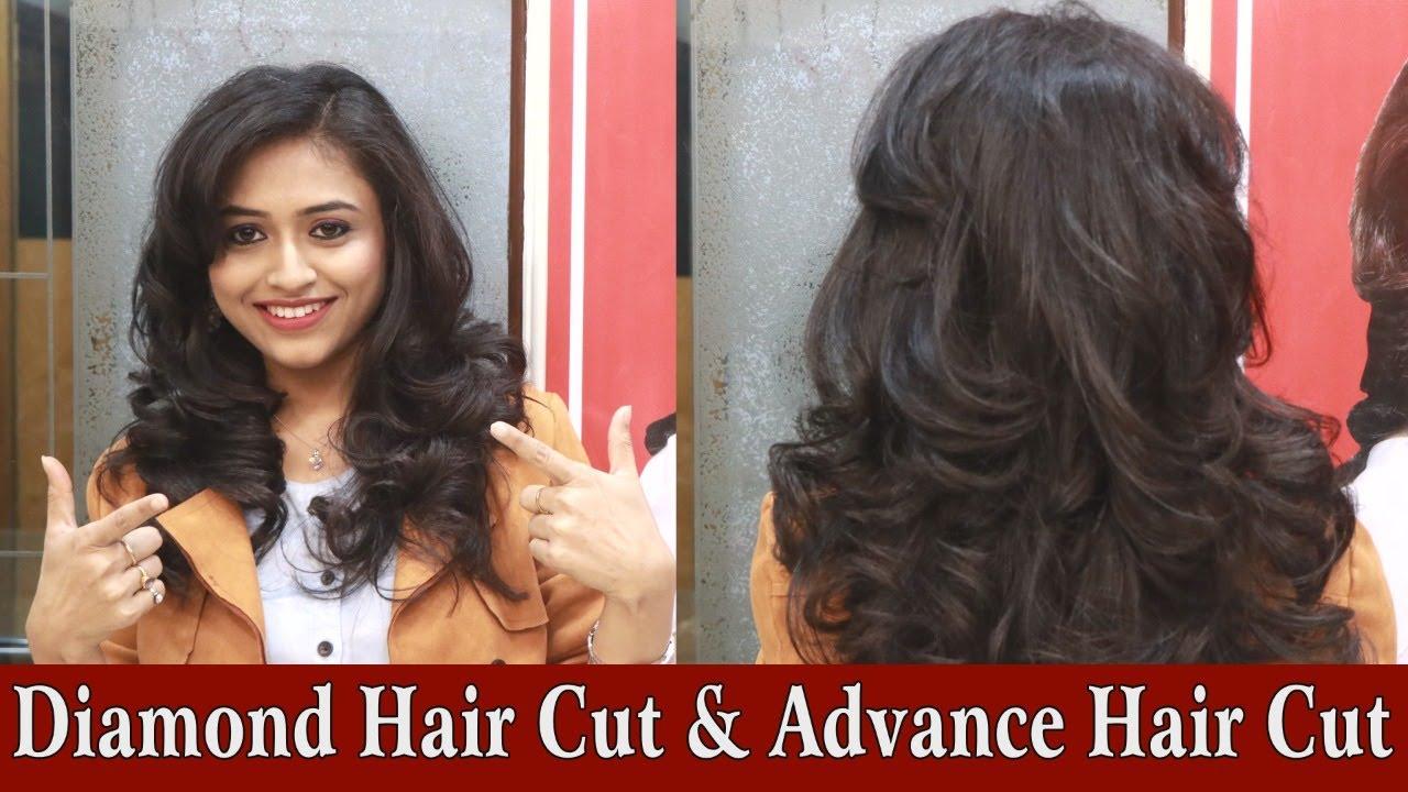 Diamond Hair Cut & Advance Hair Cut on Long by Jas Sir.Sam and Jas Hair  & Makeup Academy Mumbai.