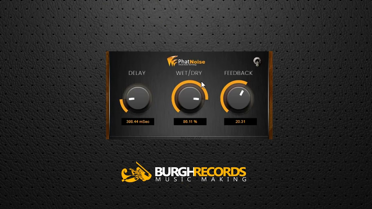 Download Free Vintage tape echo plug-in: PhatNoise Delay by