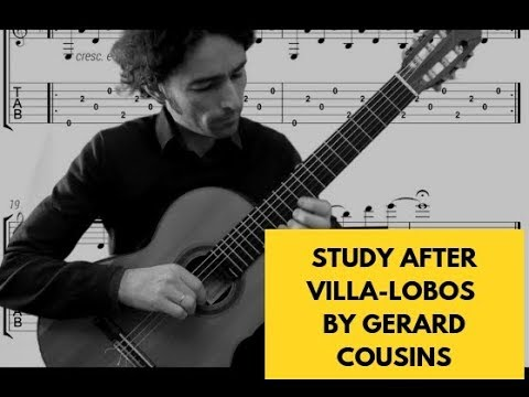 """""""Standing on the Shoulders of Giants"""" - Study after Villa-Lobos' Etude No.1 by Gerard Cousins"""