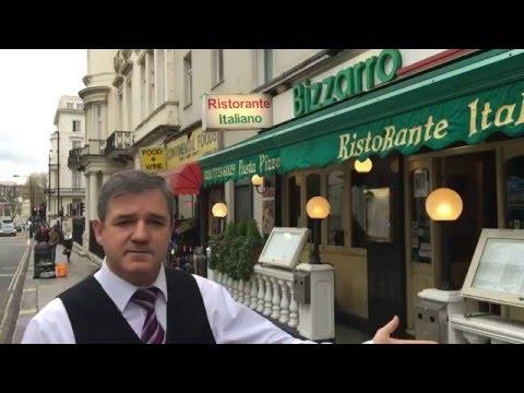 Paddington London Restaurants  - Bizzarro Italian Restaurant -Paddington London