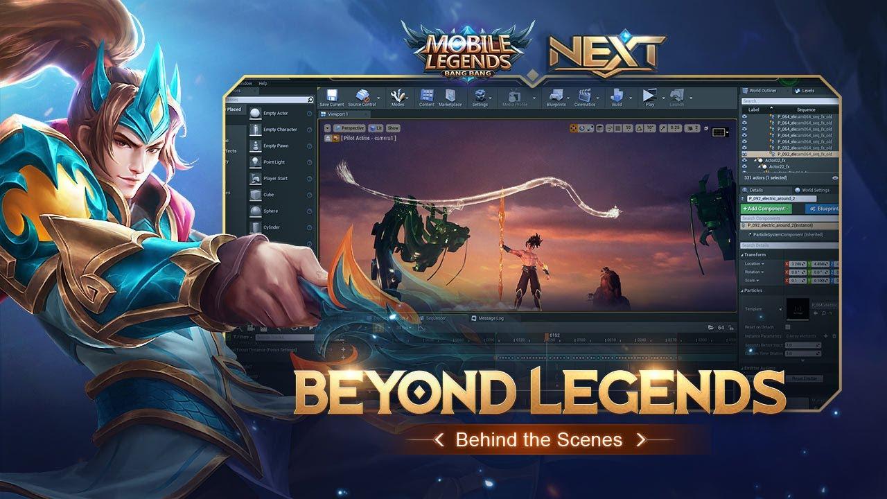 Behind the Scenes | Beyond Legends Cinematic Trailer | Mobile Legends: Bang Bang