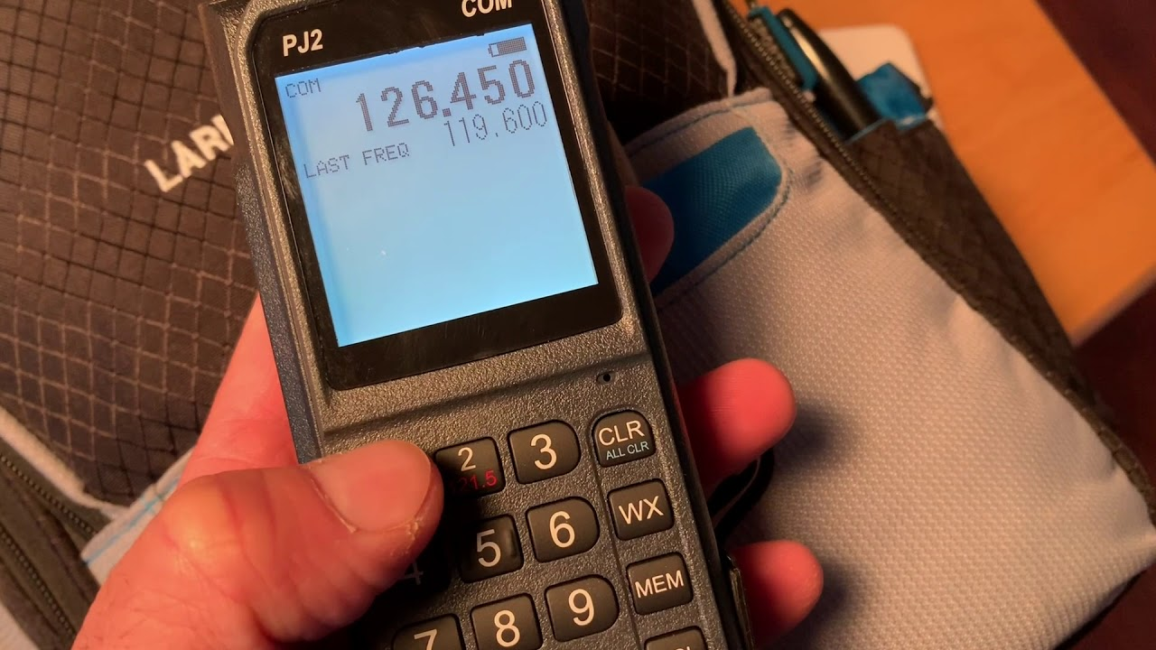 Download Sporty's PJ2  Portable Comm Radio