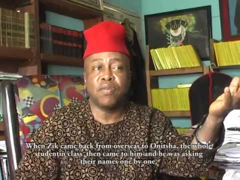 KEN SARO WIWA REGRETED NOT WORKING WITH THE IGBOS ..... GODDY UWAZULIKE (AKA IKENGA)