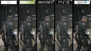 Splinter Cell Blacklist | ONEX vs 360 vs PC vs PS3 vs WiiU | All Versions Comparison