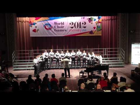 """Ave Maria"" (Ko Matsushita) By Vox Viri (World Choir Games 2012 @ Cincinnati, OH)"