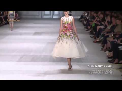 Giambattista Valli | Paris Haute Couture Otoño Invierno 2014