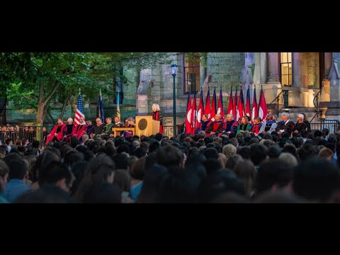 University of Pennsylvania Convocation, 2016
