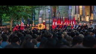 Repeat youtube video University of Pennsylvania Convocation, 2016