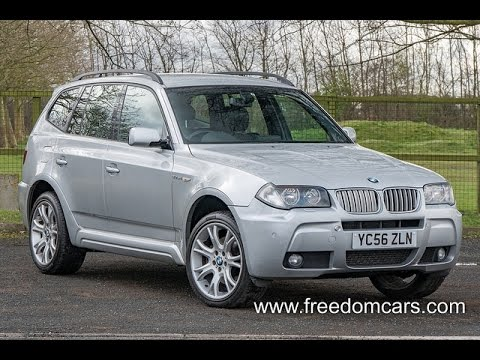 bmw x3 3 0 sd m sport 5dr youtube. Black Bedroom Furniture Sets. Home Design Ideas