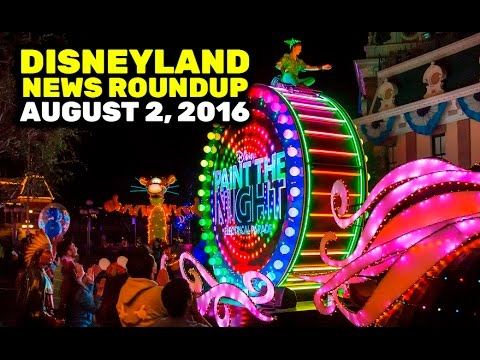 Disneyland News Roundup for August 2, 2016