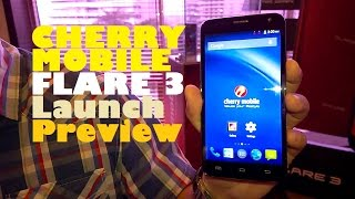 "Cherry Mobile Flare 3 Launch Preview - Quad-Core 5"" Phablet With 8MP Camera For Only PHP 3,999"