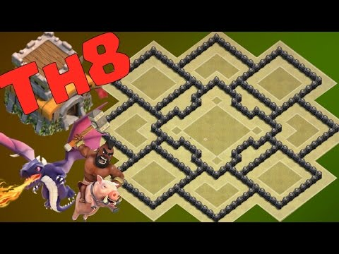Th8 War Base 2017 Anti Dragon Anti Hog Anti Gowipe Anti 2 Star Anti 3 Star Anti Valkyrie