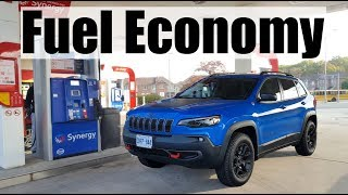 2019 Jeep Cherokee - Fuel Economy MPG Review + Fill Up Costs