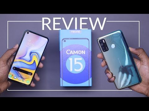 Tecno Camon 15 unboxing and detailed review