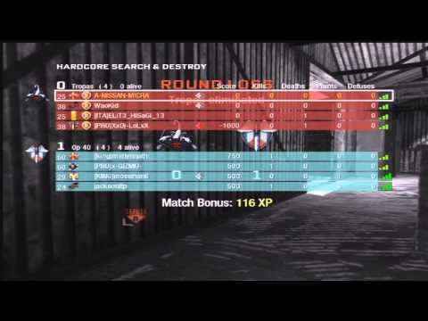 Black Ops - Hardcore Search And Destroy - Anti-American