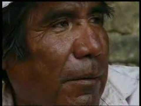 Tarahumara Tribe and their cave houses, Mexico