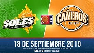 LNBRD Tv3, Live Stream, Soles Vs Cañeros. Sept 18-2019