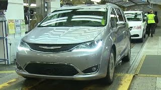 2017 Chrysler Pacifica Production