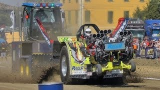 7800 hp!!! Tractor Pulling Four NoHemi 3 V8 8.526 cc [Full HD-Pure Sound]