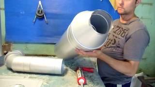 Дымоход для газового котла . Труба алюмоцинк в алюмоцинке.(Не дорогой, но качественный дымоход. Мой сайт - http://metalblesk.etov.ua/about Алюмоцинк является хорошей альтернативой..., 2016-08-12T15:38:22.000Z)