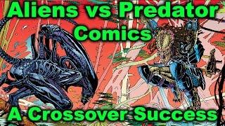Aliens vs Predator Comics - Origin of the Crossover Hit (AVP Comics - What