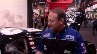Video still for NASCAR Legend Kenny Schrader - Sandvik Exhibit