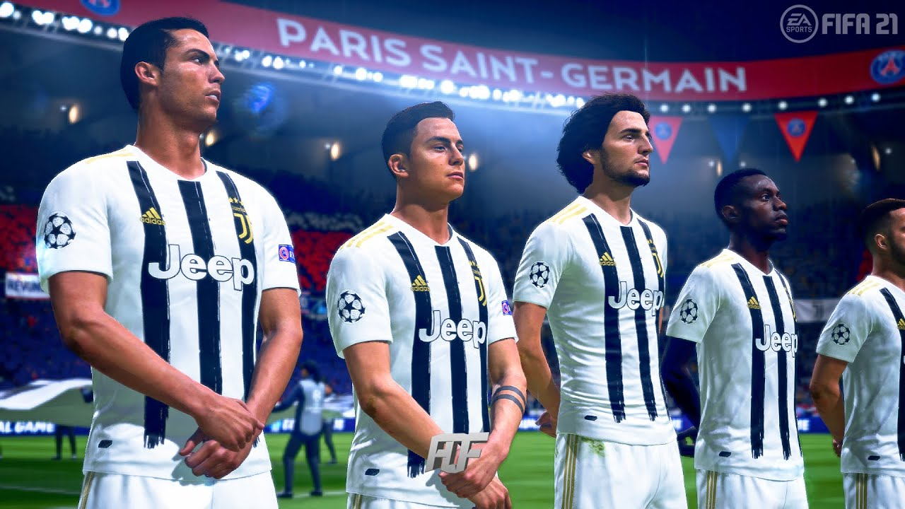 fifa 21 juventus vs psg uefa champions league youtube fifa 21 juventus vs psg uefa champions league