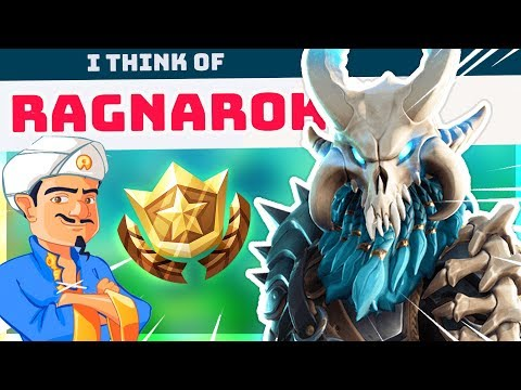 AKINATOR GUESSES NEW FORTNITE CHARACTERS!