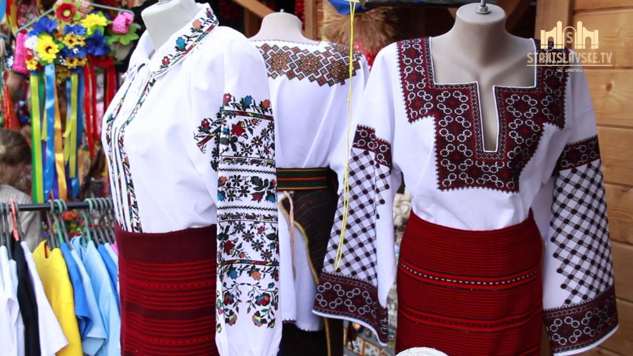 На Івано-Франківській Великодній ярмарці представлені колоритні косівські  вишиванки 13fbbcce21b23