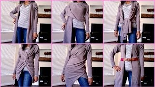 How To Wear A Wrap Sweater - 9 looks