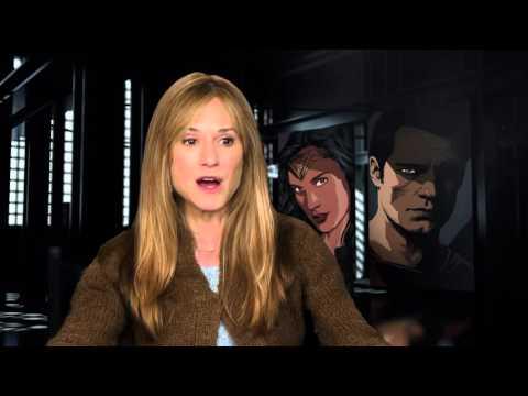 "Batman v Superman: Dawn of Justice: Holly Hunter ""Senator Finch"" Behind the Scenes Movie Interview"