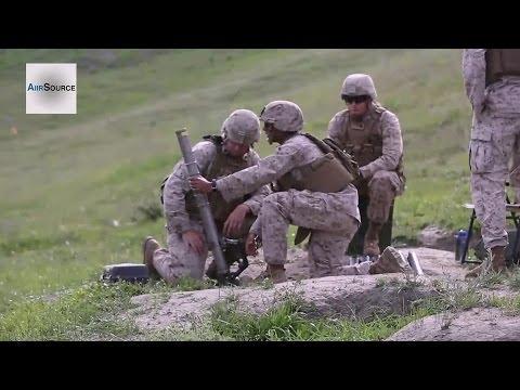 "US Marines ""War Dogs"" 66mm Mortar Fire Training"