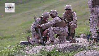 "US Marines ""War Dogs"" 66mm Mortar Fire Training"