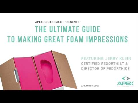 Apex Presents: The Ultimate Guide to Making Great Foam Impressions