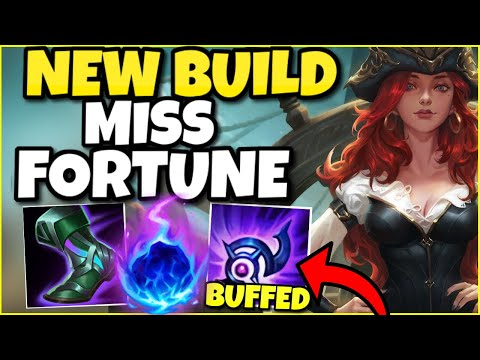 (NEW BUILD!) RIOT OVERBUFFED LUDENS! NOW THIS FULL AP MISS FORTUNE SUPPORT BUILD IS 100% BROKEN!