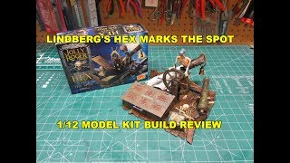 LINDBERG HEX MARKS THE SPOT 1/12 MODEL KIT BUILD REVIEW HL224 Super...