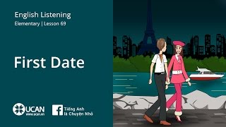 Learn English Listening   Elementary - Lesson 69. First Date