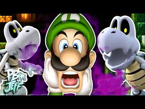 THROW DEM BONES - New Super Mario Bros. U Deluxe Co-Op (Part 5)