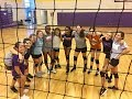 Highland Middle Vikings Volleyball 2017