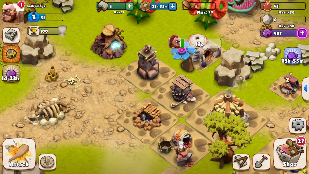 Age Of Caveman Android And Ios Gameplay Strategy Game New Features Updated March 15 2017
