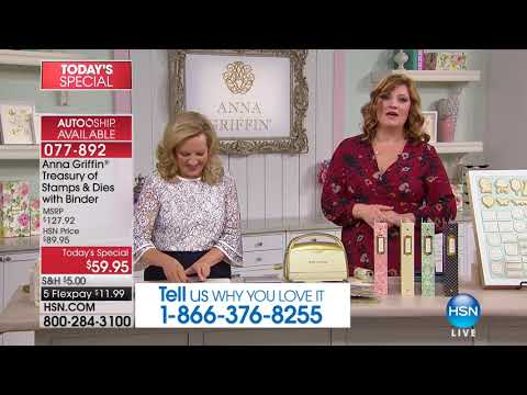 HSN | Paper Crafting Tools & Supplies 01.10.2018 - 03 PM
