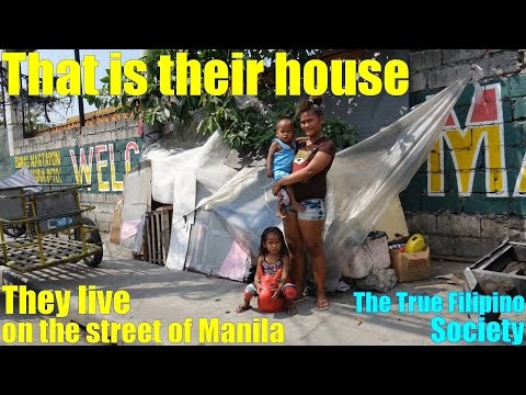 Travel to Manila Philippines and Meet these Homeless Kids who Live on the Street of Manila