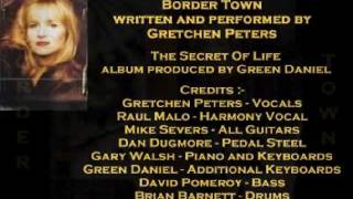 Watch Gretchen Peters Border Town video