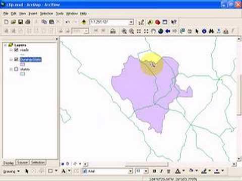 Geoprocessing in ArcGIS || Basic ArcGIS || Buffer, Clip, Dissolve