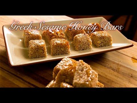 Pasteli: Greek Sesame Honey Bars