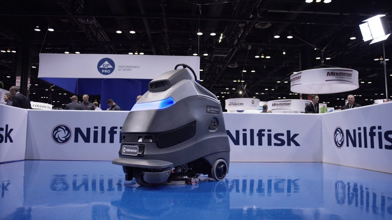 Nilfisk Liberty A50 showcasing at ISSA 2016 in Chicago